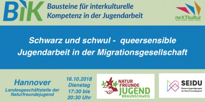 Schwarz und schwul – queersensible Jugendarbeit in der Migrationsgesellschaft (16.10.2018)