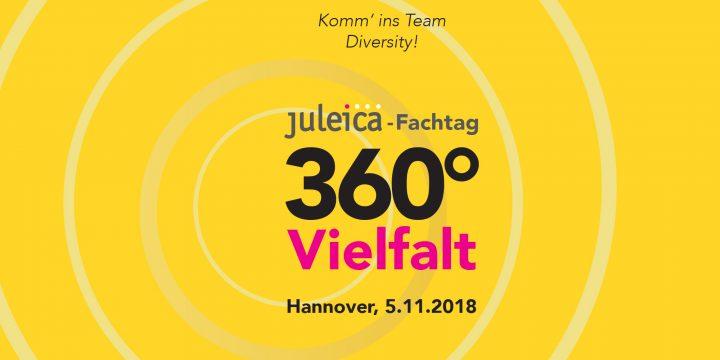 Einladung zum Juleica-Fachtag: 360° Vielfalt